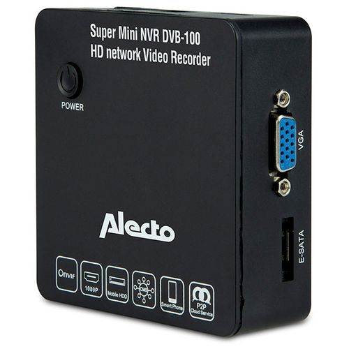 Alecto Super Mini Netwerk Video Recorder zwart