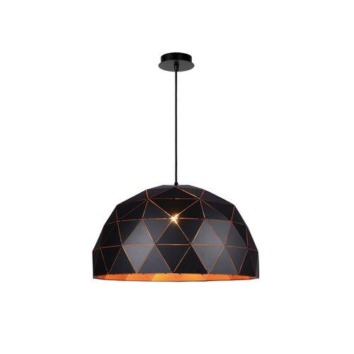 Lucide hanglamp Otona zwart Ø60cm 3xE27