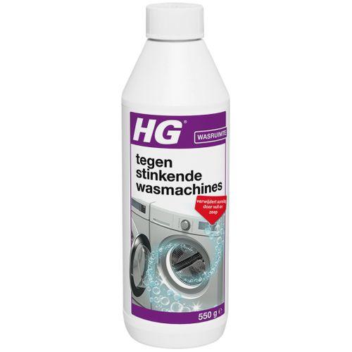 HG stinkende wasmachine reiniger 550 gr fles