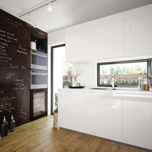 Transform zelfklevende decoratiefolie Chalkboard zwart 45x200cm