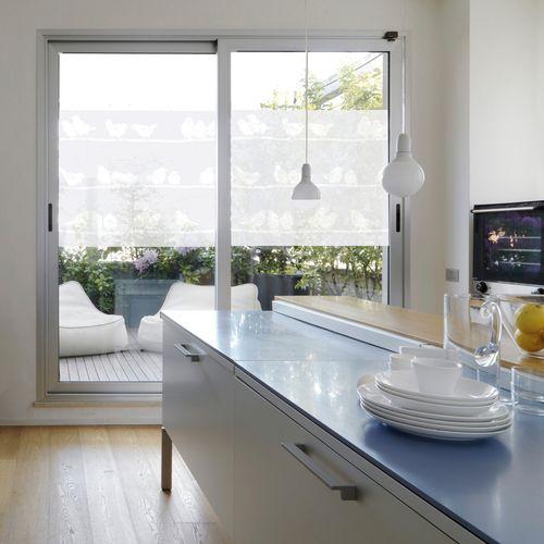 Transform premium statische glasfolie Birds 45x150cm