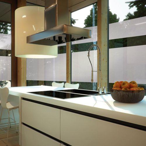 Transform premium statische glasfolie Mist 67,5x150cm
