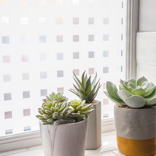 Transform premium statische glasfolie Blocks 67,5x150cm