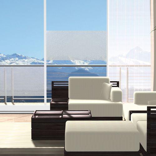 Transform premium statische glasfolie Clouds 67,5x150cm