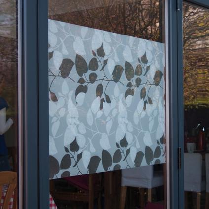 Transform film statique premium pour vitrage Leaves 67,5x150cm
