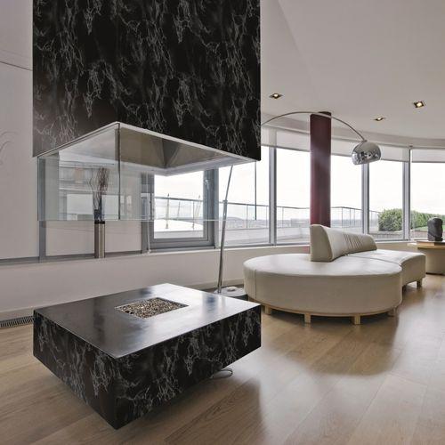 Transform film adhésif décoratif Marble noir 45x200cm