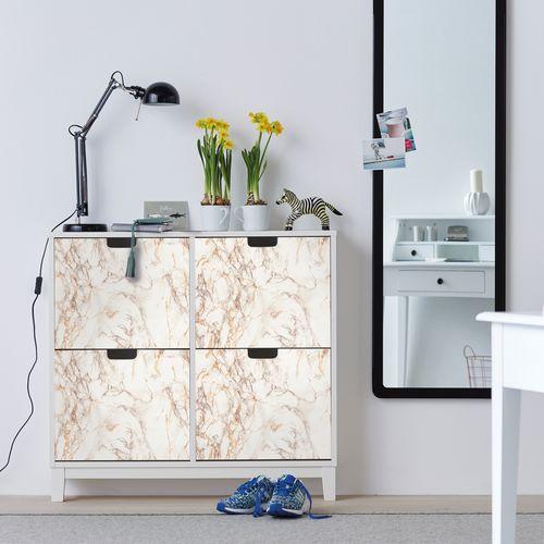 Transform film adhésif décoratif Marble brun 45x200cm