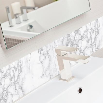 Transform zelfklevende decoratiefolie Marble grijs 45x200cm