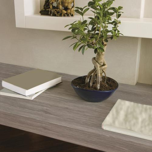 Transform zelfklevende decoratiefolie Wood grijs 45x200cm