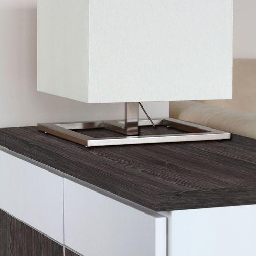 Transform zelfklevende decoratiefolie Wood zwart 45x200cm