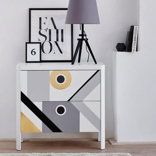 Transform zelfklevende decoratiefolie Uni grijs 67,5x200cm