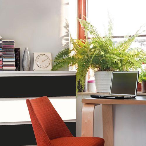 Transform zelfklevende decoratiefolie Lac zwart 67,5x200cm