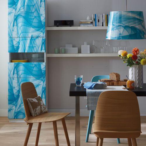 Transform film adhésif décoratif Voile bleu 45x150cm