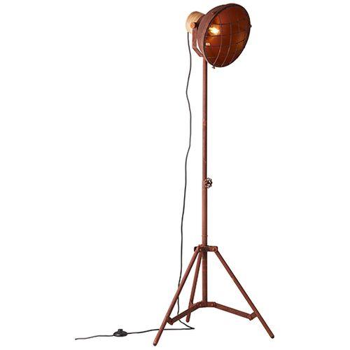 Brilliant vloerlamp Emma metaal roest E27