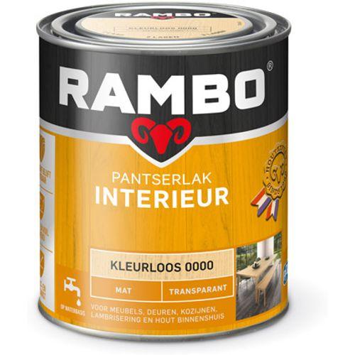 Rambo pantserlak interieur transparant mat kleurloos 750ml