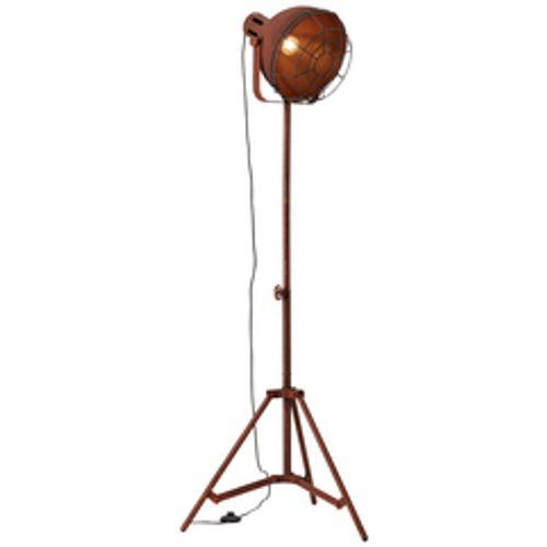 Brilliant staanlamp 'Jesper' roest 60W