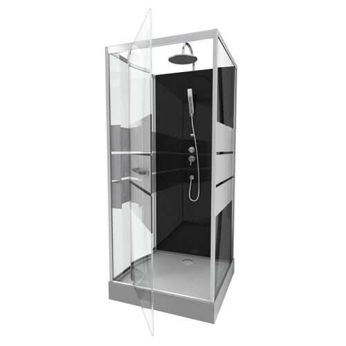 Aurlane douchecabine Study chroom 90x90x219-230cm