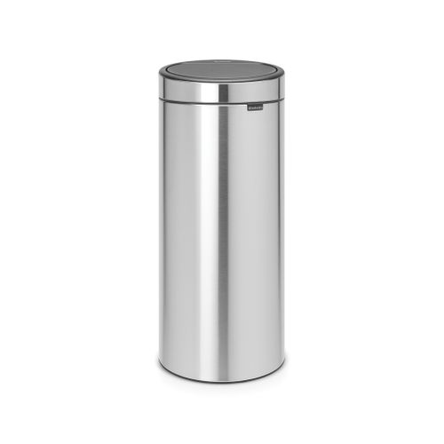 Poubelle Brabantia Touch Bin New 30L matt steel