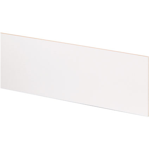 JéWé stootbord wit 130x20cm (3 stuks)