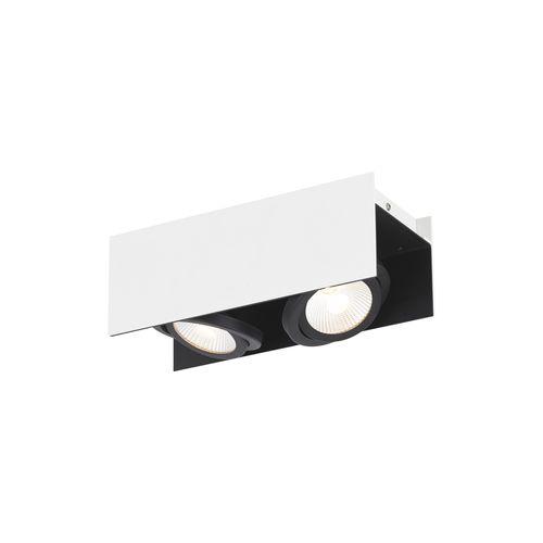 EGLO spot LED Vidago wit zwart 2x108W