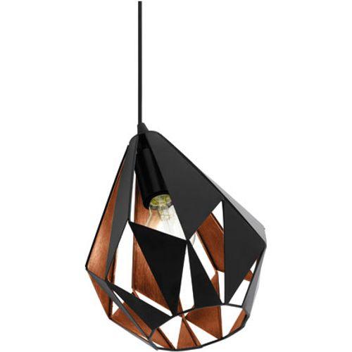 EGLO tafellamp Carlton 1 zwart 60W