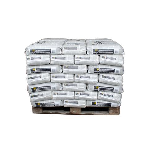 Sencys cement CEM II 32,5N 25kg 56 stuks + palet