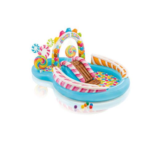 Air de jeux aquatique gonflable Intex Candy Zone 295X191cm