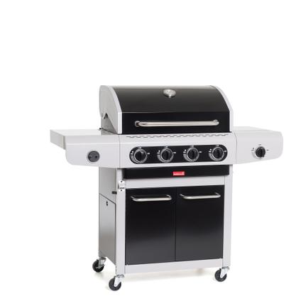 Barbecue au gaz Barbecook 'Siesta 412 Black' 14kW
