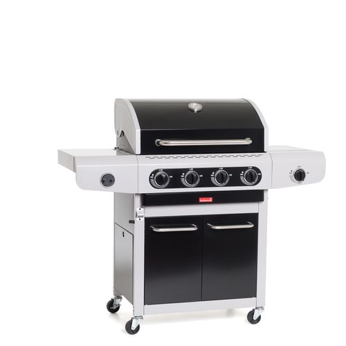 Barbecue au gaz Barbecook 'Siesta 412 Black' 14kW