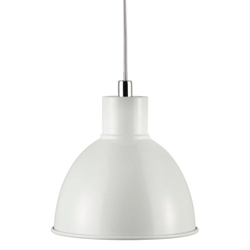 Nordlux suspension Pop blanc chroom E27