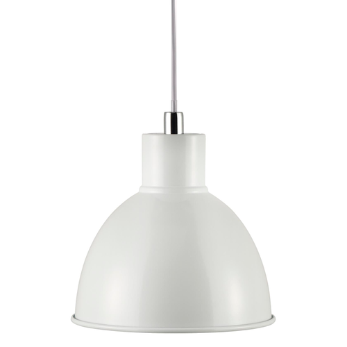 Nordlux hanglamp Pop wit chroom E27