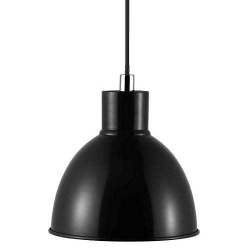 Nordlux suspension Pop noir chroom E27
