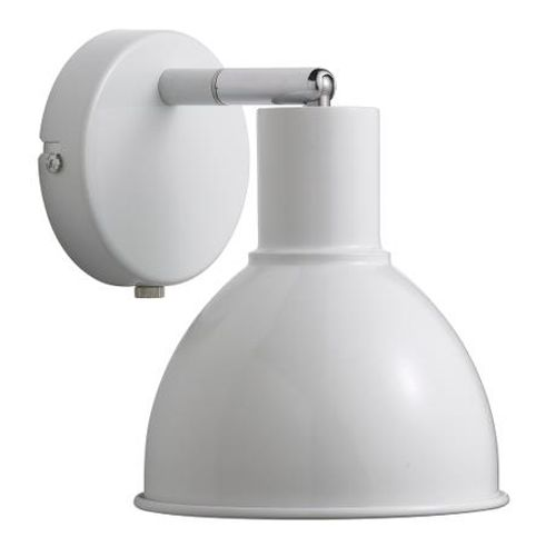 Nordlux wandlamp Pop wit chroom E27