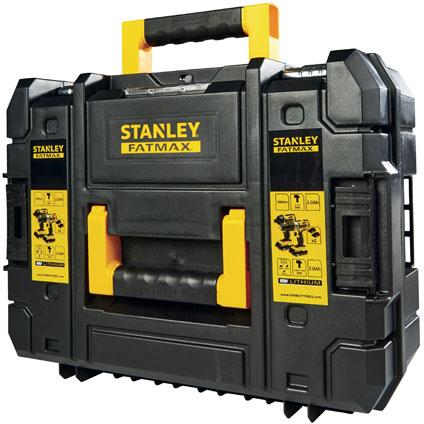 Stanley set schroef-en klopboormachine + slagschroevendraaier FMCK461D2T-QW