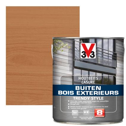 V33 houtbeits Buiten Trendy Style oude ceder zijdeglans 2,5L