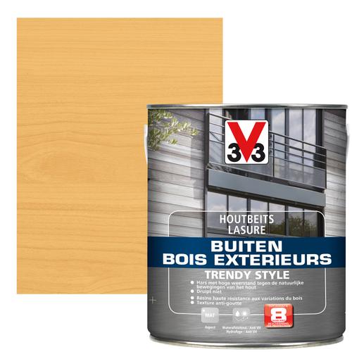 V33 houtbeits Buiten Trendy Style Noorse den zijdeglans 2,5L