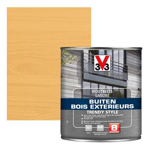 V33 houtbeits Buiten Trendy Style Noorse den zijdeglans 0,75L