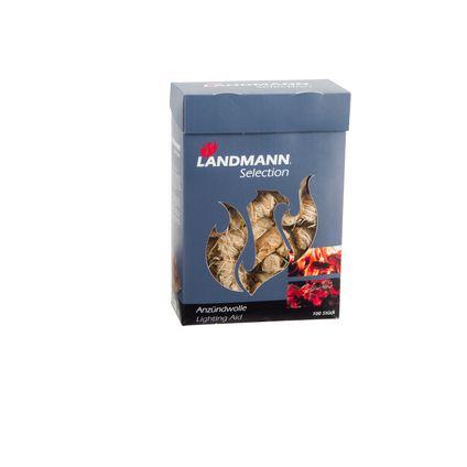 Landmann aanmaakhout houtwool