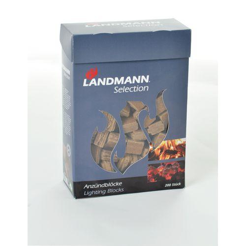Landmann aanmaakblokjes – 200 stuks