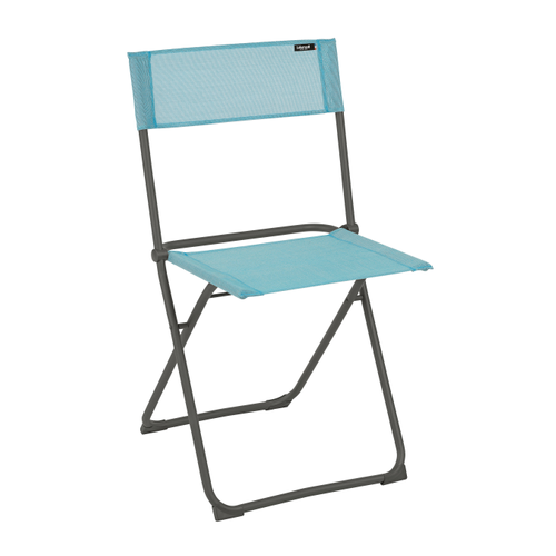 Chaise de jardin Lafuma Balcony pliable bleu