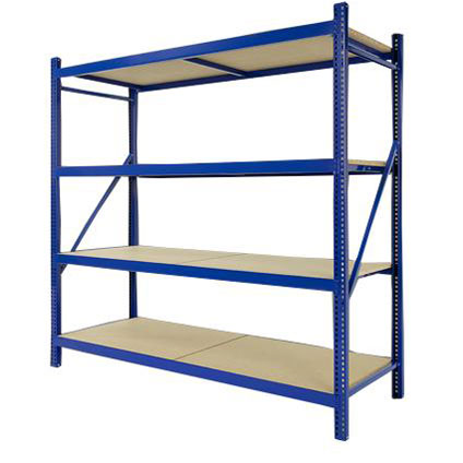 Avasco opbergrek 'Industrial Pro' hout 200 x 192 x 60 cm