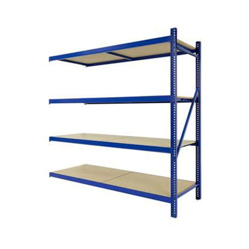 Avasco aanbouwset voor opbergrek 'Industrial Pro' hout 200 x 192 x 60 cm