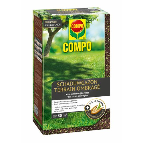 Semences de gazon Compo After Moss (50m²) 1kg