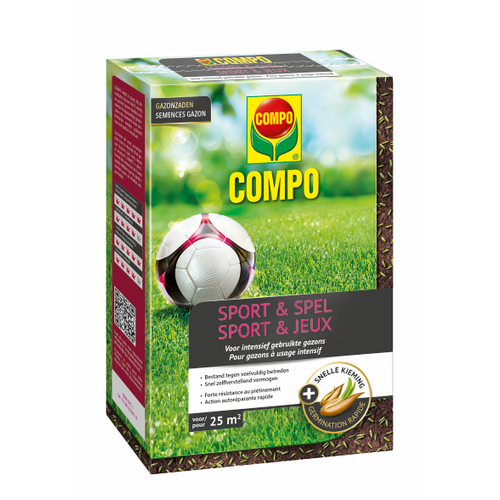 Compo gazonzaad Sport & Spel (25m²) 500g