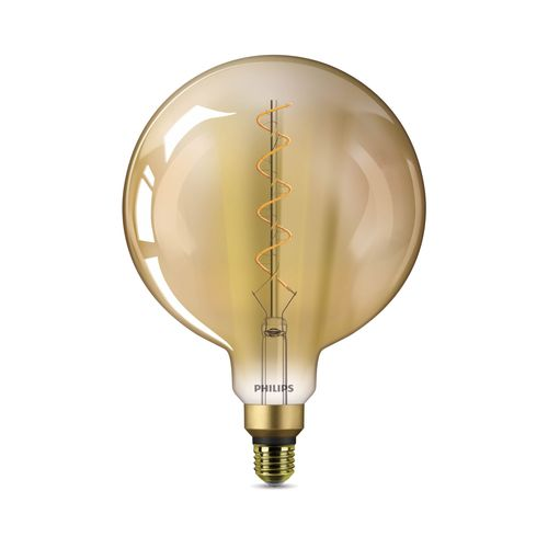 Philips LED-lamp Deco Vintage grote globe 5W E27