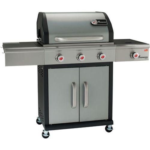Barbecue au gaz Landmann 'Triton PTS 3.1' argent 13,5kW
