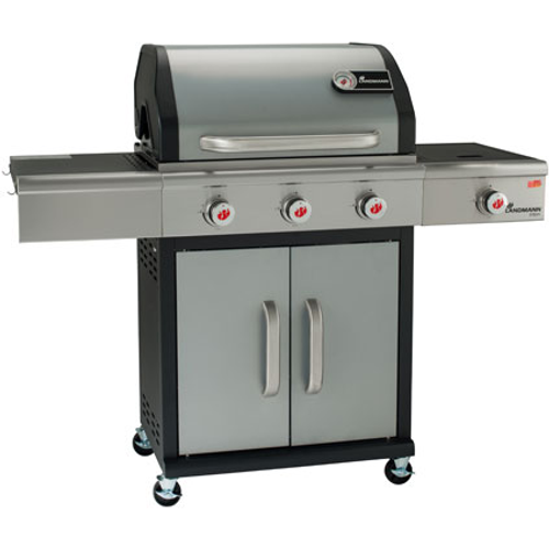 Landmann gasbarbecue 'Triton PTS 3.1' zilver 13,5kW