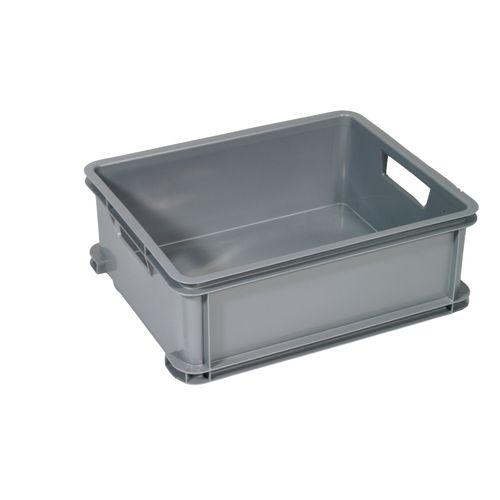 Boîte Curver unibox classique M argent 20L