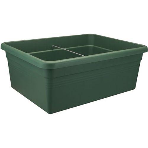 Carré potager Elho 'Green Basics' vert feuillage