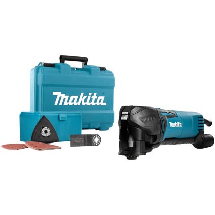 Multitool Makita TM3010CX15 320W avec accessoires